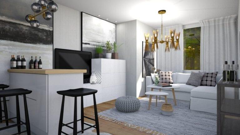 Render proyecto apartamento