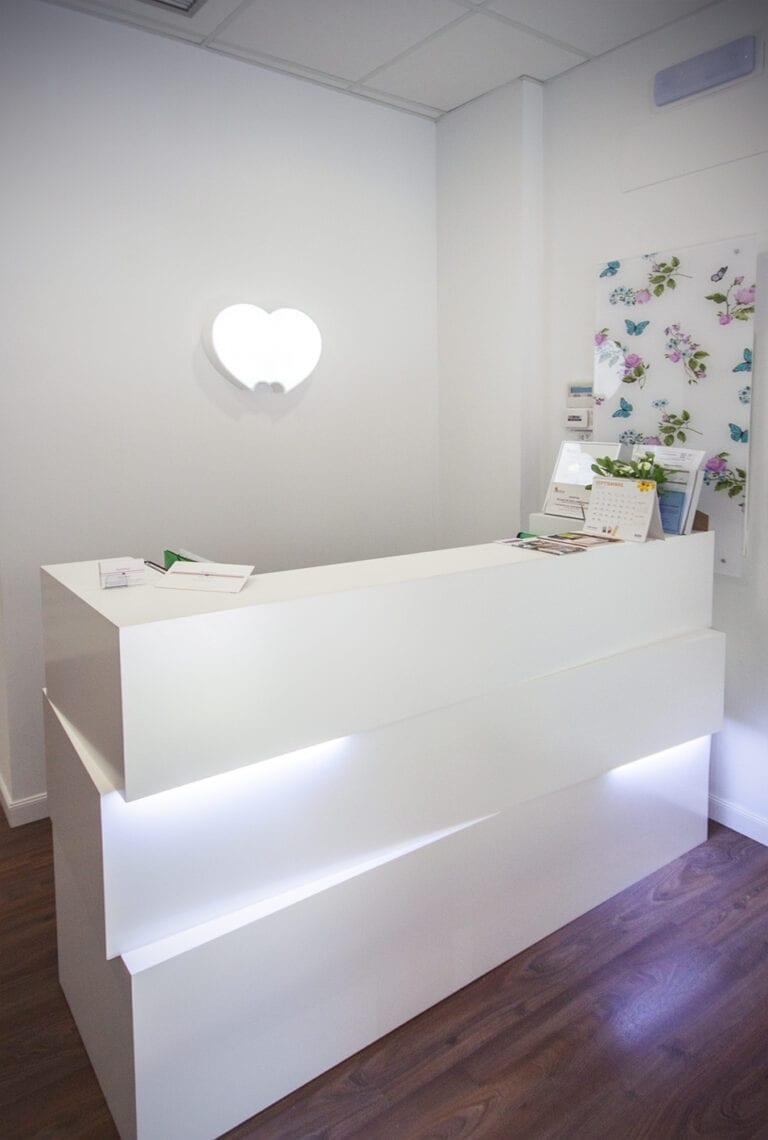 Apersonal interiorismo y decoración clínica dental Segovia